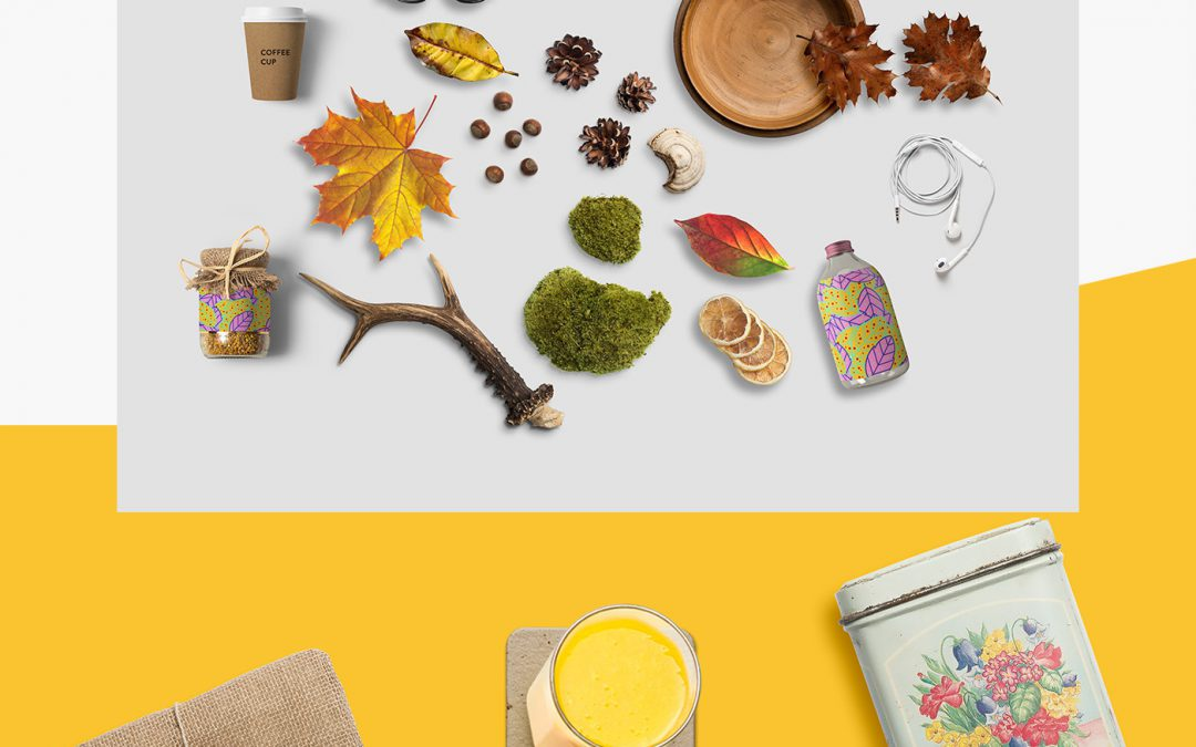 AUTUMN PACK 1 FREE MOCKUP SCENE CREATOR (FALL PRINTABLES FREE AUTUMN)