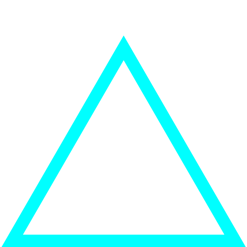 Cyan Triangle | Design Studio