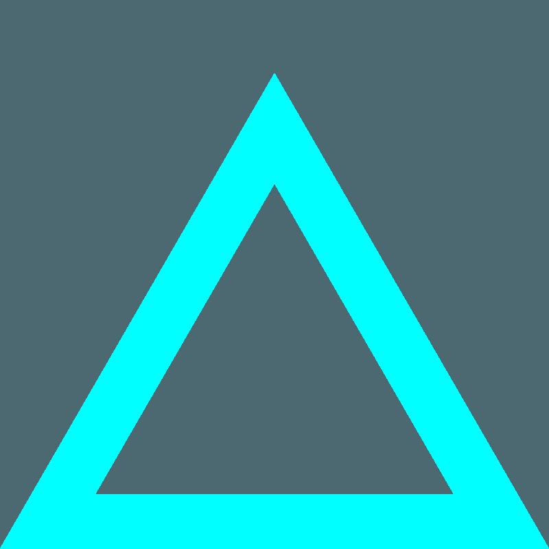 Cyan Triangle | Design Studio