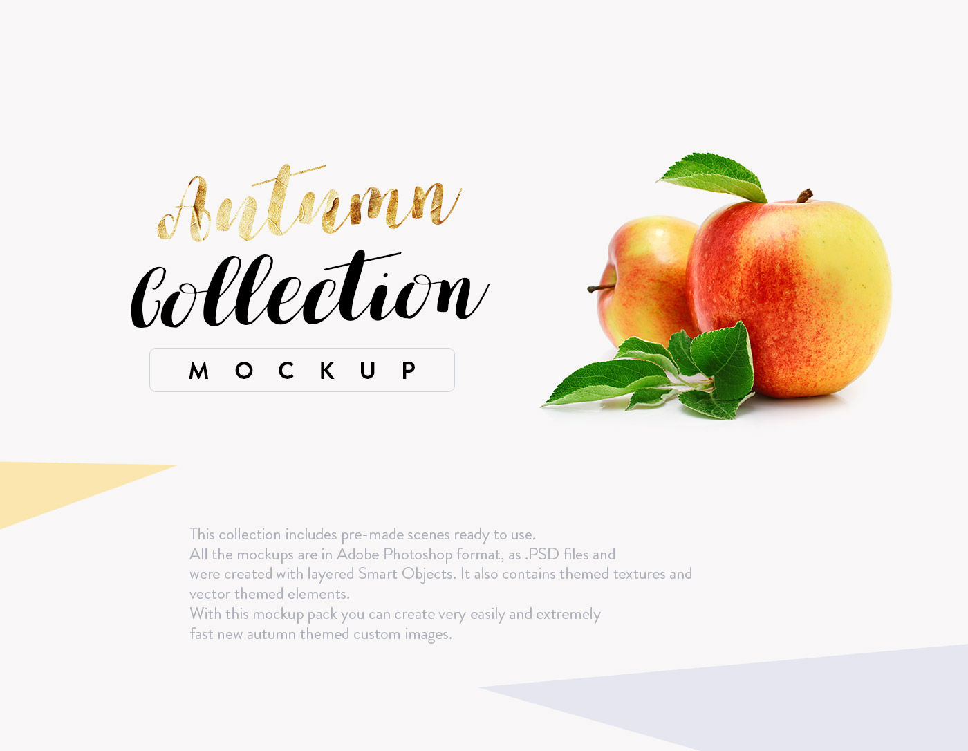 This Free Mockup Scene Creator includes Pre-made scenes ready to use.